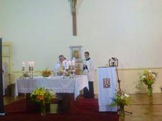 Servicio en el Altar en la Solemnidad de Santa Teresa de Ávila en el monasterio de monjas Carmelitas de La Serena