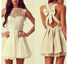 Süßes Kleidchen in Naturweiß!