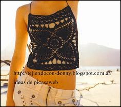 ergahandmade: Crochet Top + Diagram