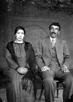 Mr. and Mrs. Mendez formal portrait | por The Field Museum Library