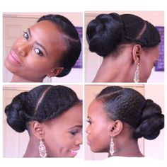 """""""Twisted Bun with A Braid Shared By Mosaiccreations."""""""