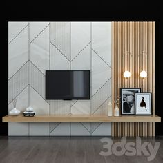 Tv Unit Interior Design, Tv Unit Furniture Design, Home Interior, Interior Design Living Room, Apartment Interior, Tv Unit Decor, Tv Wall Decor, Wall Tv, Tv Wall Panel