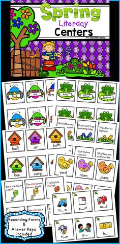 This download contains 6 literacy activities  that your students will enjoy during the spring season! Here's what is included: *Syllable Sort *Nouns, Verbs, and Adjectives  *Punctuation *Compound Words *Identify Nouns, Verbs, and Adjectives in Sentences *Vowel Digraphs Sort  *Directions *Title Cards *Sorting Cards *Recording sheets are included for all activities *Answer Keys