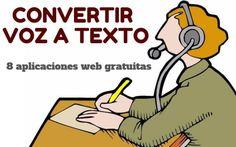 Convertir voz en texto - 8 mejores aplicaciones web