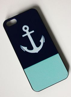 Color Block Ancher iPhone 5s Case by trompo on Etsy, $9.95