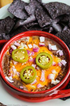 Chili Refried Bean Cheese Dip