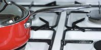 The longer burnt grease sits on your enamel gas stove burners, the more difficult the grease will be to remove. Every time you use the burners, the grease burns on the enamel. Clean Stove Burners, Gas Stove Burner, Gas Stove Top, Aluminum Pans, Grease Stains, Remove Stains, Warm Food, Cleaning Hacks, Cleaning Solutions