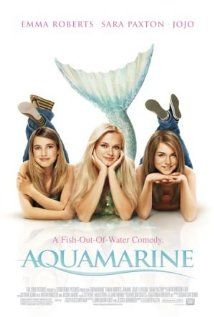 Aquamarine although it's 6 years old is such a refreshing movie to watch with the kids or a girl's night.