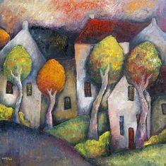 Jeremy Mayes: Four Tree Landscape