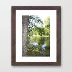 Springtime at the Lake - Dayton, Tennessee / Framed Art Print