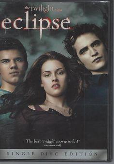 The Twilight Saga: Eclipse (DVD, 2010) Kristen Stewart, Robert Pattinson