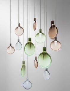 LED pendant lamp NEBRA by FontanaArte   #design Sebastian Herkner @fontanaarte