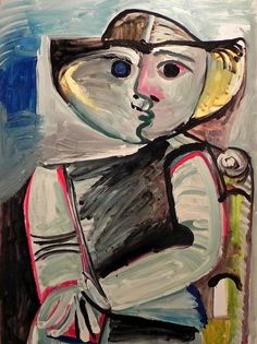 Seated figure by Pablo Picasso, circa Museo Picasso, Málaga, Spain Pablo Picasso, Kunst Picasso, Art Picasso, Picasso Drawing, Picasso Paintings, Watercolor Paintings Abstract, Watercolor Artists, Oil Paintings, Painting Art