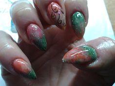 fall acylic nails