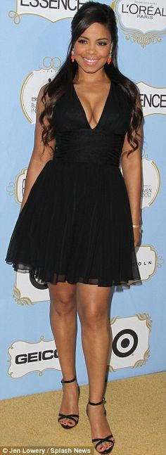 Sanaa Lathan. Love her hair and dress