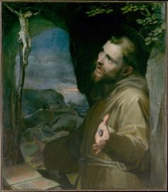Saint Francis receiving the stigmata. Federico Barocci —1604