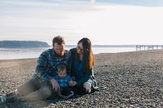 Eric & Ericka met at summer camp several years ago. We took a drive out to visit the camp and take their family portraits. I love when a place holds such special memories and meaning to my clients.  #focusinphotography  #pugetsound #campsoundview