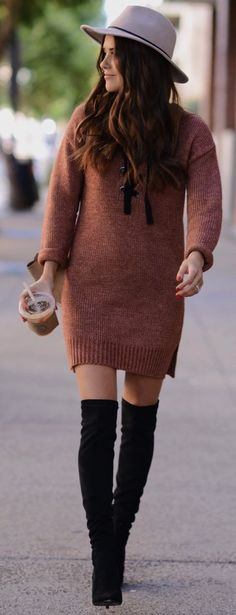 Blank Itinerary Sweater Weather Fall Street Style Inspo women fashion outfit clothing stylish apparel @roressclothes closet ideas