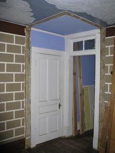 Master Bedroom wall removed:  Hey!  New doorway!