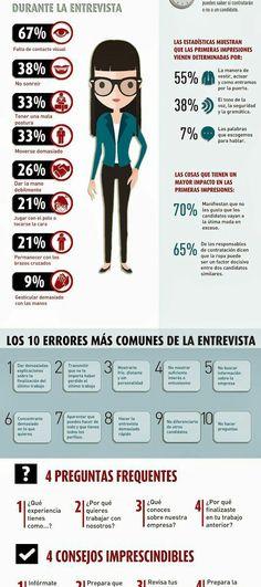 Fuente: 31 consejos fundamentales para una entrevista de trabajo #infografia #infographic #empleo –
