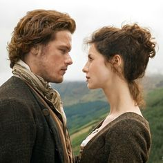 Jamie & Claire face to face