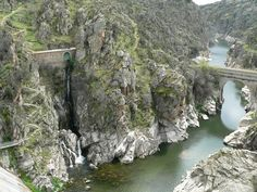 Vista desde la presa del Villar, Espana