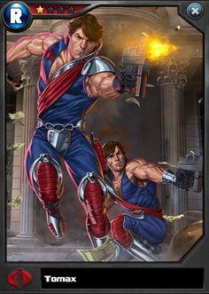 GI JOE: Battleground card art