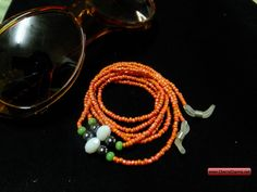 CherryCharm's Paris Eyeglass Holder - Unique handcrafted Bracelets, Necklaces, Pearls and Gift Ideas Eyeglass Holder, Eyeglasses, Crochet Earrings, Paris, Unique, Bracelets, Gifts, Jewelry, Eyewear