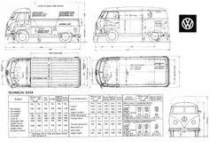 Volkswagen Type 2 T1 (Split) Singlecab & Panel