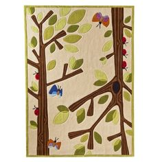 I adore this rug, Very very cute and it looks so soft. $289.00 via Target