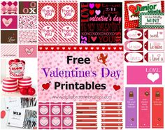 Free Printable Candy Buffet Labels | ... day printables 1024x808 How to Create a Valentines Day Candy Buffet