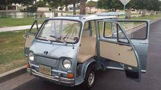 1970 Subaru 360 Micro Van Really digging the suicide doors!