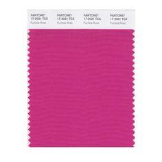 2001 - Pantone Color of the Year (Fuchsia Rose) PANTONE 17-2031