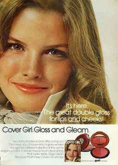 Ann Powers.....Gloss and Gleam Cover Girl 1972