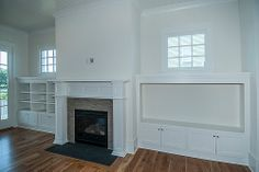 Family Room  minus the fireplace this is just what I am looking to do