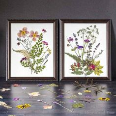 Use the natural beauty of flowers to create stunning pressed flower art. Gather some & start creating your own masterpiece.