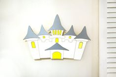 Castle Nightlight nursery wall lights Castle Night Light for | Etsy Cloud Night Light, Nursery Night Light, Water Based Acrylic Paint, Baby Room Wall Decor, Castle Wall, Playroom, Baby Shower Gifts, Kids Toys, Wall Lights