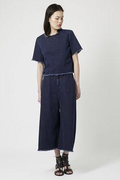 MOTO Raw Hem Culottes - Shorts - Clothing - Topshop