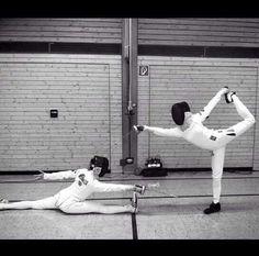 Épée requires flexibility...