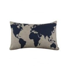 Decorative pillow covers ebay home garden sofa cushion printed pillow case world mapshomesburlapsofa gumiabroncs