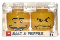 Lego Salt & Pepper Shakers