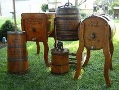 Butter Churns Made by the Standard Churn Co.