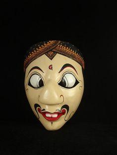 Indonesian Masks   Topeng Mask Indonesian Photo, Detailed about Topeng Mask Indonesian ...
