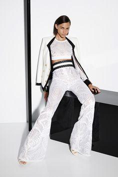 white lace top & pants ->>> BALMAIN Woman 13