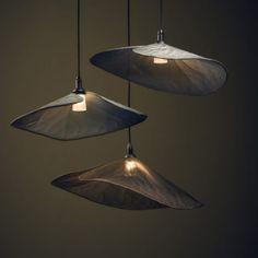 gallery-lilies 864 x 864 Organic Lighting Design, Jar Pendant Light, Lamp, Interior Architecture Design, Lights, Home Decor Baskets, Custom Lighting, Single Pendant Lighting, Metal Lighting