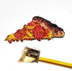Lfernandes: Projeto minimalista utiliza pó de lápis