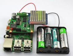 NEW TUTORIAL: Battery powered Raspberry Pi Displays w/ RaspiRobot Shield #piday #RaspberryPi @Raspberry_Pi