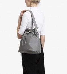 9cf9bd5a9617 Isshiki Bucket Bag in Cement from Matt   Nat