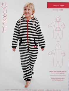 Kindermode - Schnittmuster Overall Gr: 50/56 bis 140/146 - ein Designerstück von stoefflerin bei DaWanda