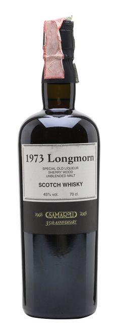 LONGMORN 1973 Samaroli 35th Anniversary, Speyside